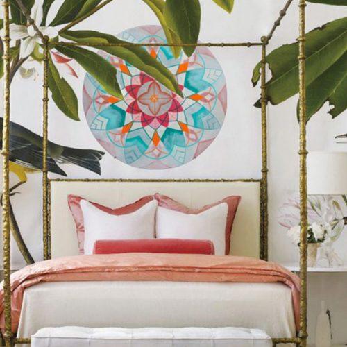Mandala Artwood wallpanels